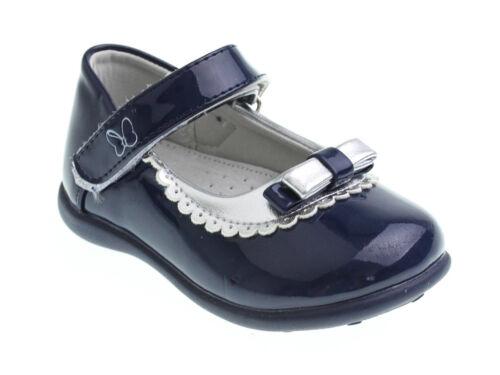 Niño CHICAS Bombas Zapatos De Patente Cuero Plantilla ocasión Party tamaños UK 3.5-7
