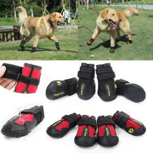Reflective-Dog-Shoes-for-Large-Dogs-Waterproof-Anti-slip-Rubber-Rain-Snow-Boots