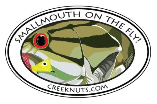 SMALLMOUTH BASS State Cut-Out Stickers decals fly fishing MANY STATES rods reels