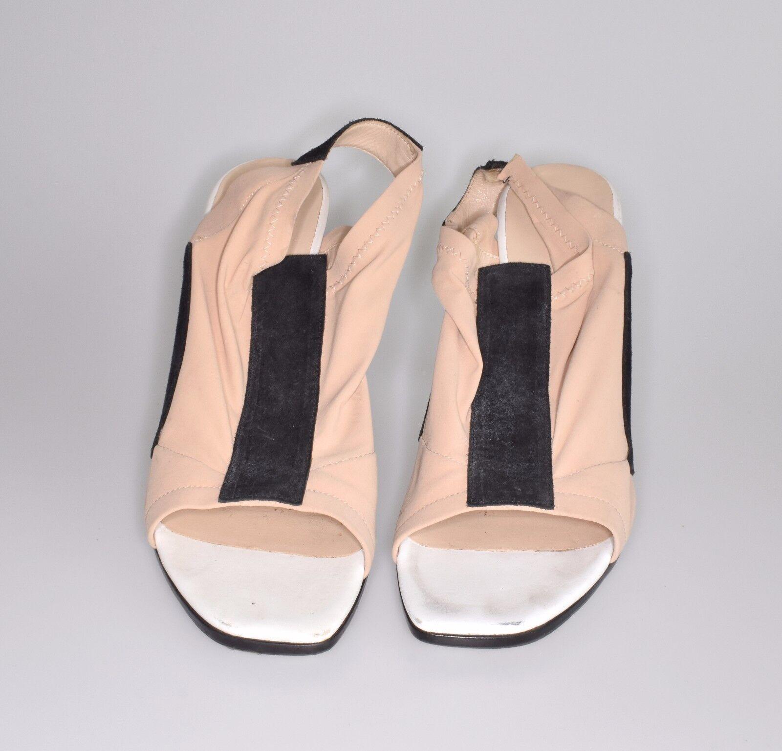 Balenciaga Ghesquiere nude Stretch highheel shoe SS Collector item SZ. 40.5 SS shoe 200 87b881
