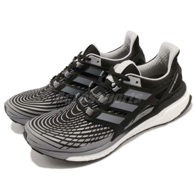 huge discount 5ca02 8970b adidas Energy Boost M Continental Core Black Grey Men Running Shoes CP9541