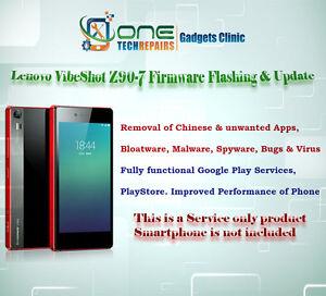 Details about Lenovo Vibe Shot Z90-7 Smartphone Firmware Installation,  Update Service