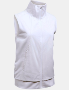 Women's ColdGear® Reactor Run Vest White UK Size Small