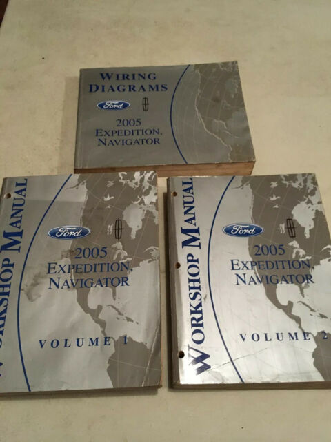 2005 Ford Expedition Lincoln Navigator Service Manuals Vol