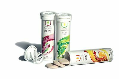 Nuun U Natural Vitamin Electrolyte Hydration Drink 16 tabs Tube