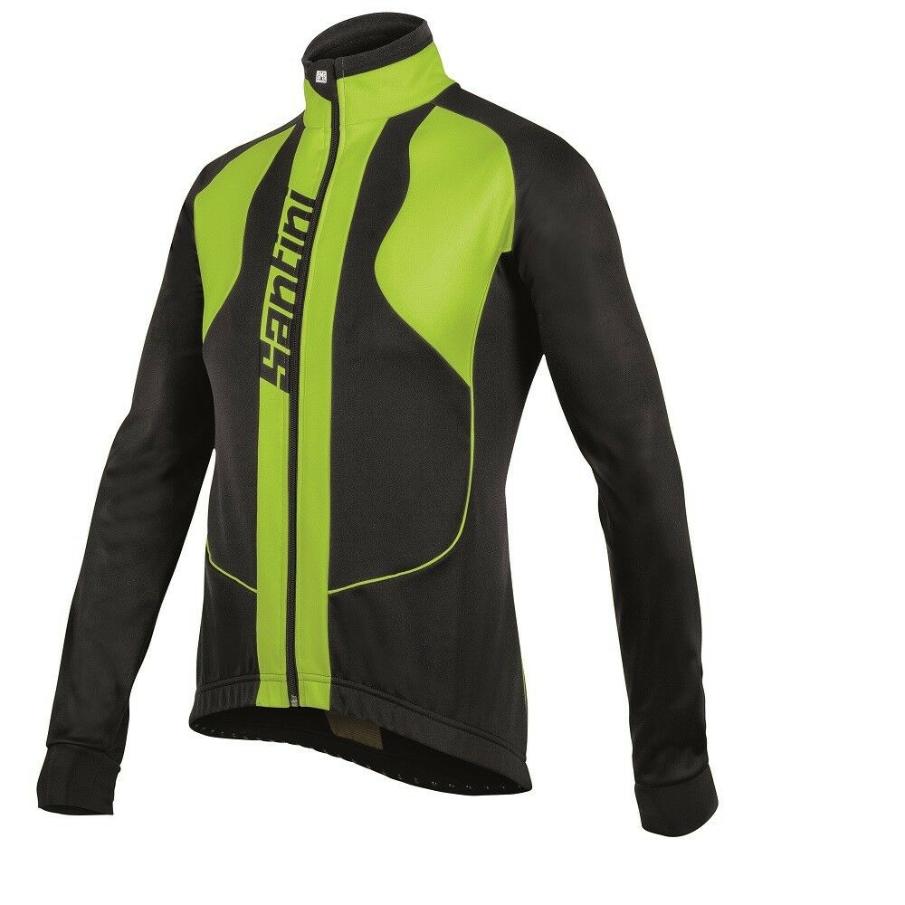 SANTINI REBEL ZEROWIND Invernale Ciclismo Ciclismo Ciclismo Giacca RRP .99  ora .99 70c