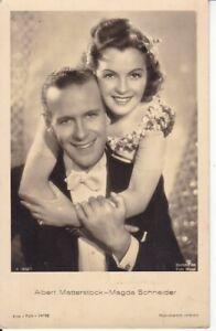 uralte-AK-Deutsche-Schauspieler-Albert-Matterstock-Magda-Schneider-1943-15