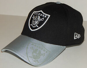 045716919 Oakland Raiders New Era Official NFL Sideline 39Thirty Cap   Hat S M ...