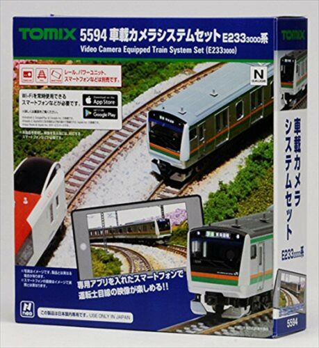 TOMIX N scale in-vehicle camera system Set E233 3000 Series 5594 train model F//S
