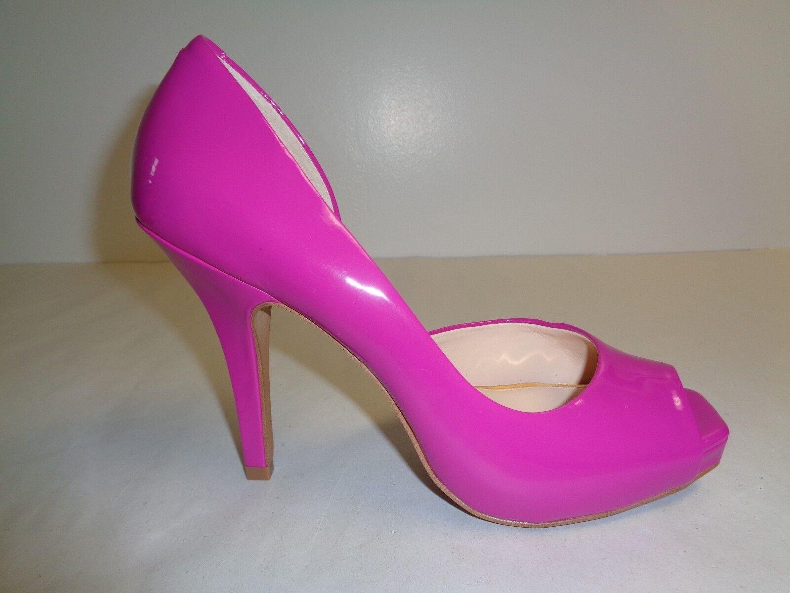 negozio di sconto Jessica Simpson Dimensione 7.5 M JOSETTE viola rosso Pumps Pumps Pumps Heels New donna scarpe  migliore qualità