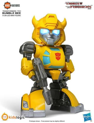 HASBRO KIDS LOGIC NAZIONI TF01 Autobot Bumblebee Transformers Mini Figura A Led