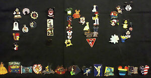 DISNEY-PINS-50-DIFFERENT-PINS-CL-LE-HM-amp-CAST-PINS-MIXED-LOT-FAST-USA-SELLER