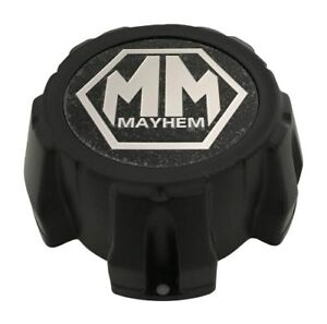 Mayhem Wheels Matte Black Center Cap C1018303b C1018303c Mcd8237ya03bo Ebay