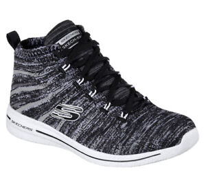 NEU SKECHERS Damen Sneakers Freizeit Memory Foam Knit Burst 8uOsA