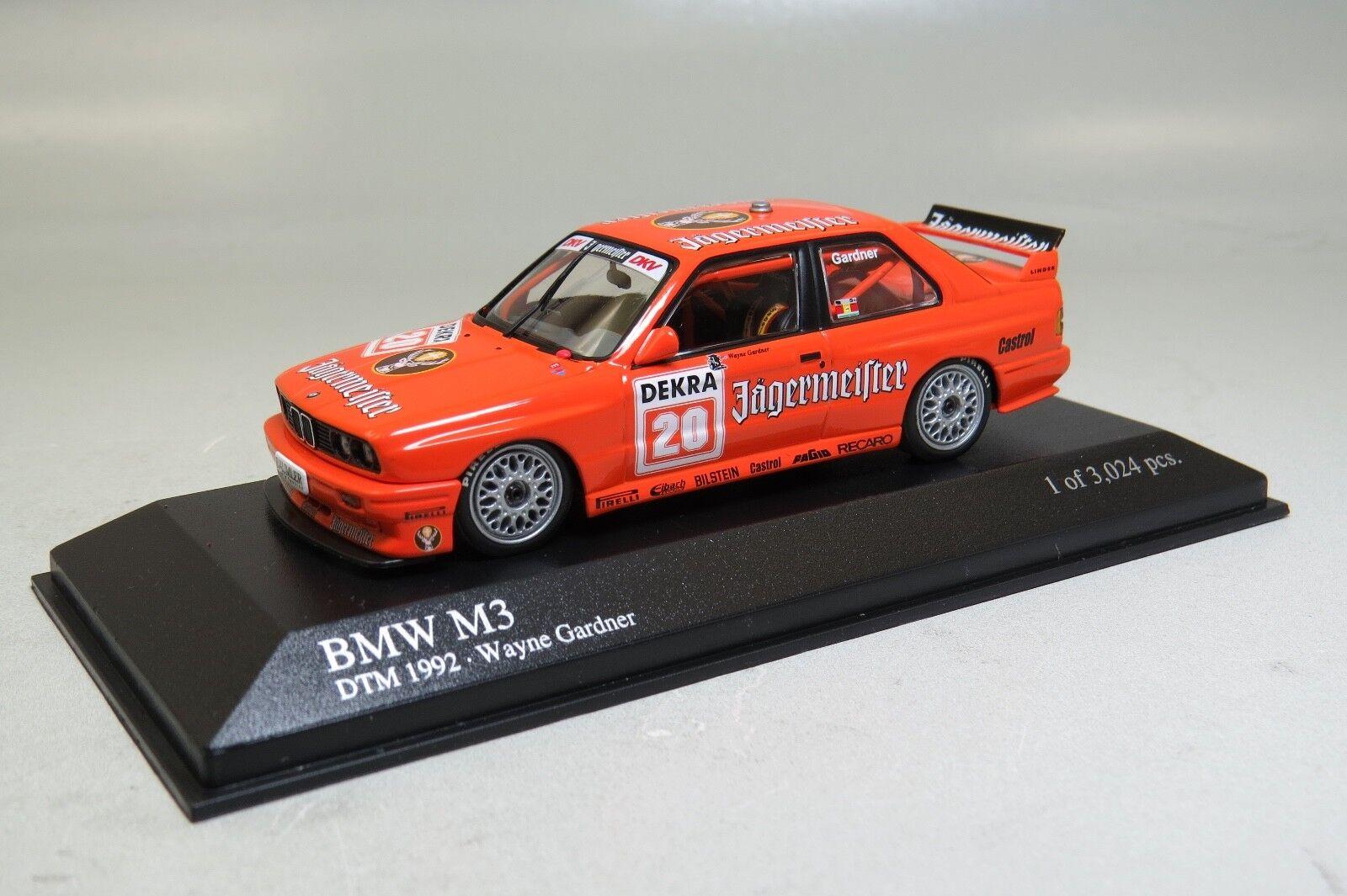 Minichamps BMW M3 DTM 1992 W.Gardner DTM 1992 1 43 430922020