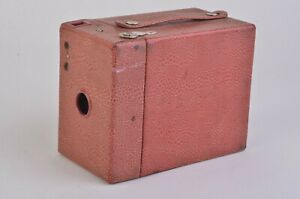 EXC KODAK MAROON RED RAINBOW HAWK-EYE NO. 2 MODEL B, CLEAN, NICE COLLECTOR