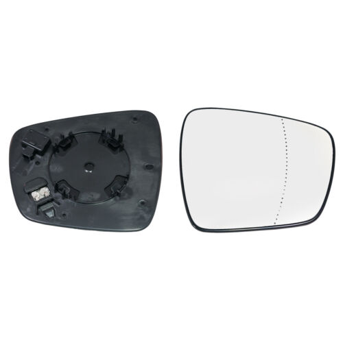 RENAULT ESPACE 2015-/> 2019 WING MIRROR GLASS HEATED WITH BASE PLATE RIGHT SIDE
