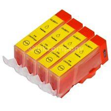 4 Tintenpatronen für CANON mit Chip CLI-521 Yellow MP 990 MX 860 MX 870 NEU