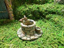 Item 4 MG2 Marshall Home U0026 Garden Miniature Fairy Wishing Well With Birds   MG2 Marshall Home U0026 Garden Miniature Fairy Wishing Well With Birds
