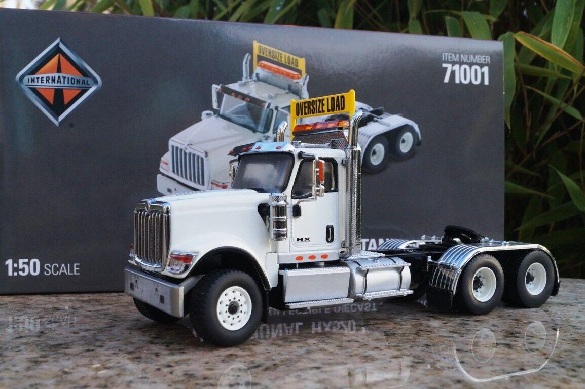 Miniature Masters International HX 520 3 Axe Tracteur Blanc Scale 1 50