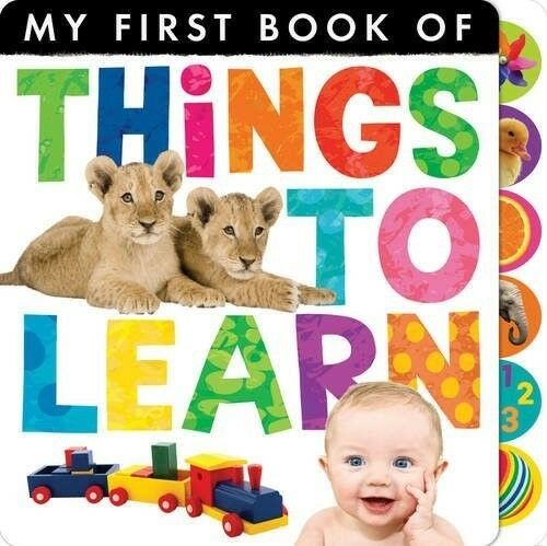Very Good, My First Book of Things to Learn, Little Tiger Kids, Book