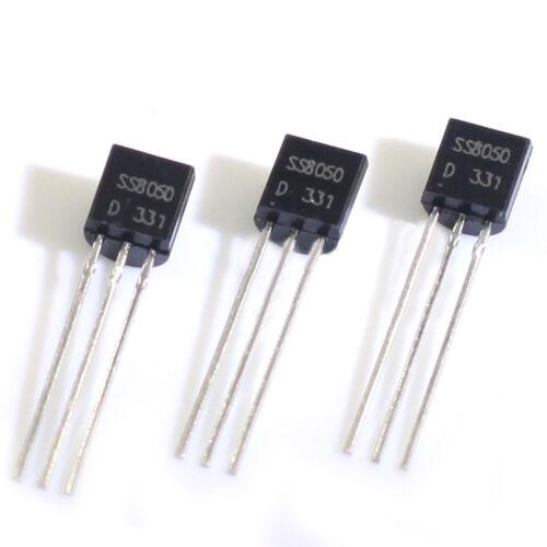 40V 1.5A SS8050 NPN BJT Bipolar General Purpose Transistor TO-92 Arduino 20//50pc