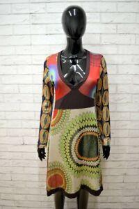 Vestito-DESIGUAL-Tailleur-Donna-Woman-Taglia-L-Abito-Dress-Viscosa-Woman-Tubino