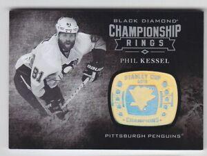2016-17-UD-BLACK-DIAMOND-PHIL-KESSEL-CHAMPIONSHIP-RINGS-CR-PK-Penguins