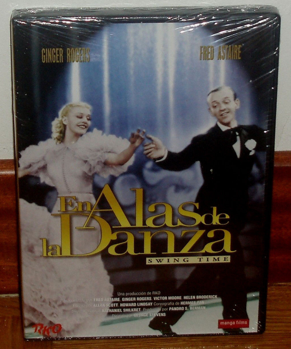 In Wings Of Dance Dvd Fred Astaire Ginger Rogers Sleeveless Open For Sale Online Ebay