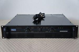 samson s700 power amplifier ebay. Black Bedroom Furniture Sets. Home Design Ideas
