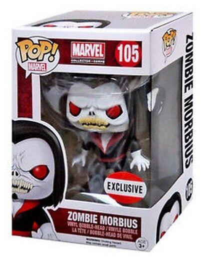 FUNKO POP Marvel Series; 105  Zombie Zombie Zombie Morbius VINYL Pop FIGURE (ECLUSIVE) 7ce0c0