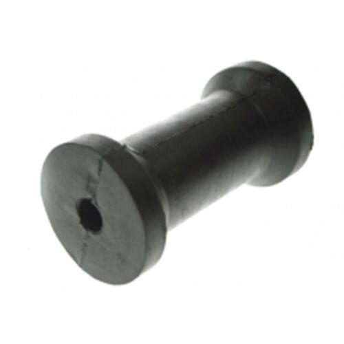 Libre PP quilla rodillo de goma bote 16 mm de diámetro Plano keelroller 127x16x51-70