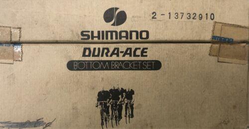 Dura Ace Bottom Bracket FIRST Edition Italian Square 109 NIB ORIGINAL complete