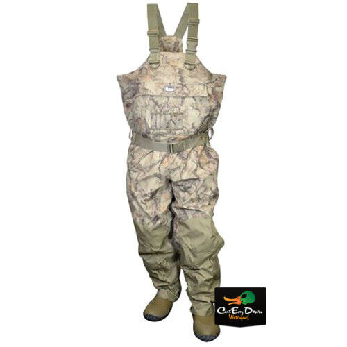 NEW BANDED REDZONE BREATHABLE INSULATED CHEST WADERS NATURAL GEAR CAMO SIZE 11