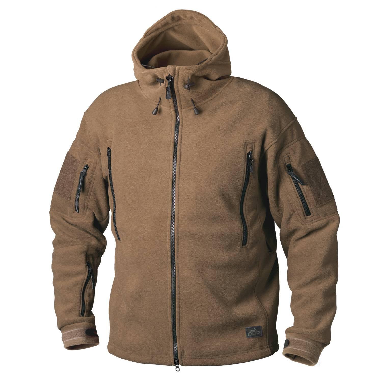 HELIKON tex patriota heavy Fleece Al aire libre ocio capucha  Jacket chaqueta coyote  hasta un 50% de descuento