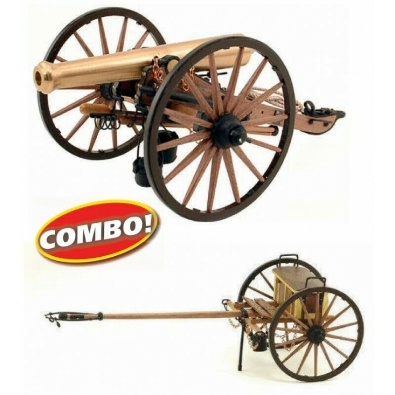 Guns of History ms4003cb Model Kit-Napoleon Cannon and front brass
