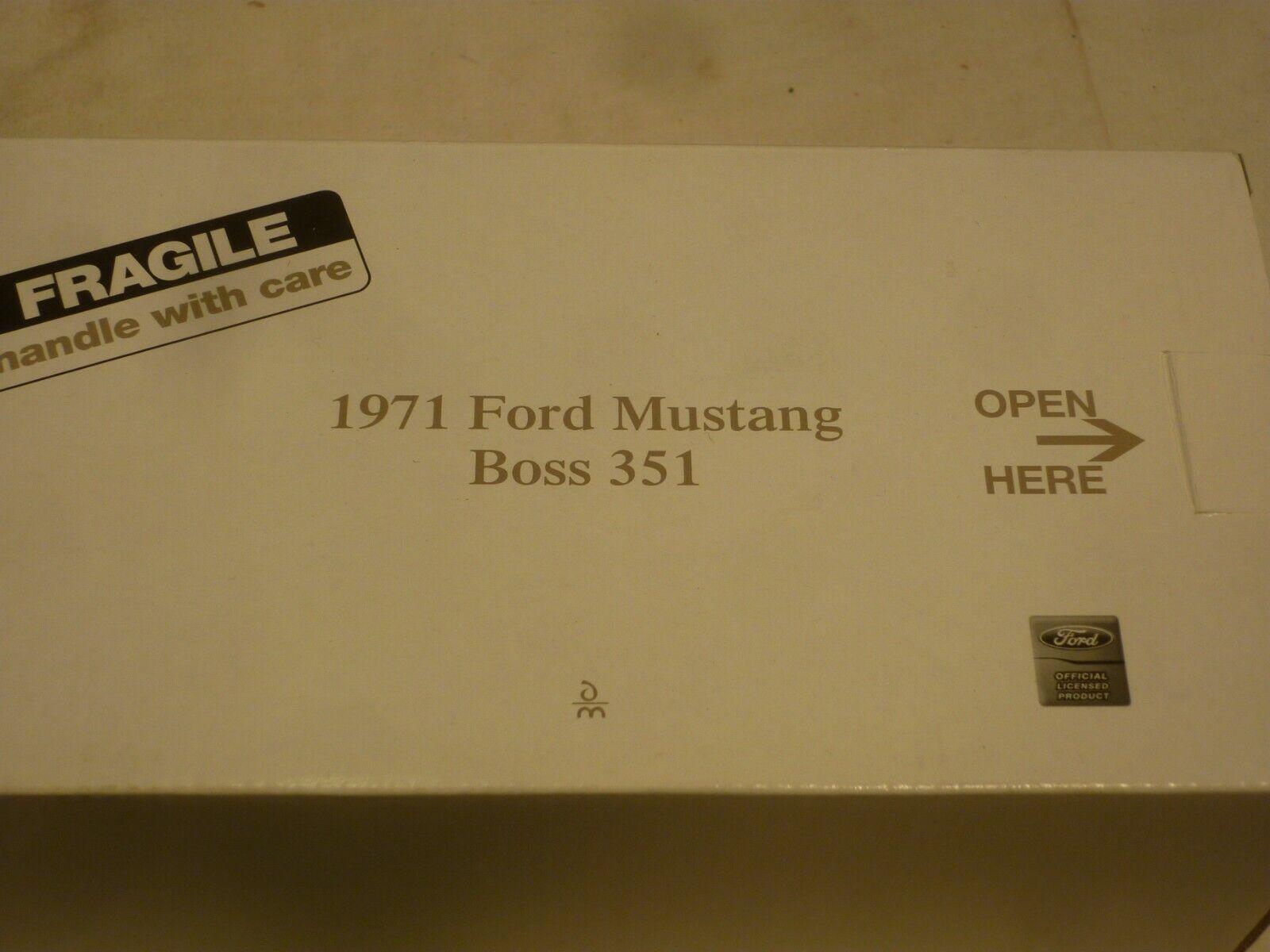 100% precio garantizado Danbury como nuevo 1971 Ford Ford Ford Mustang Boss 351, En Caja (NMB)  diseñador en linea