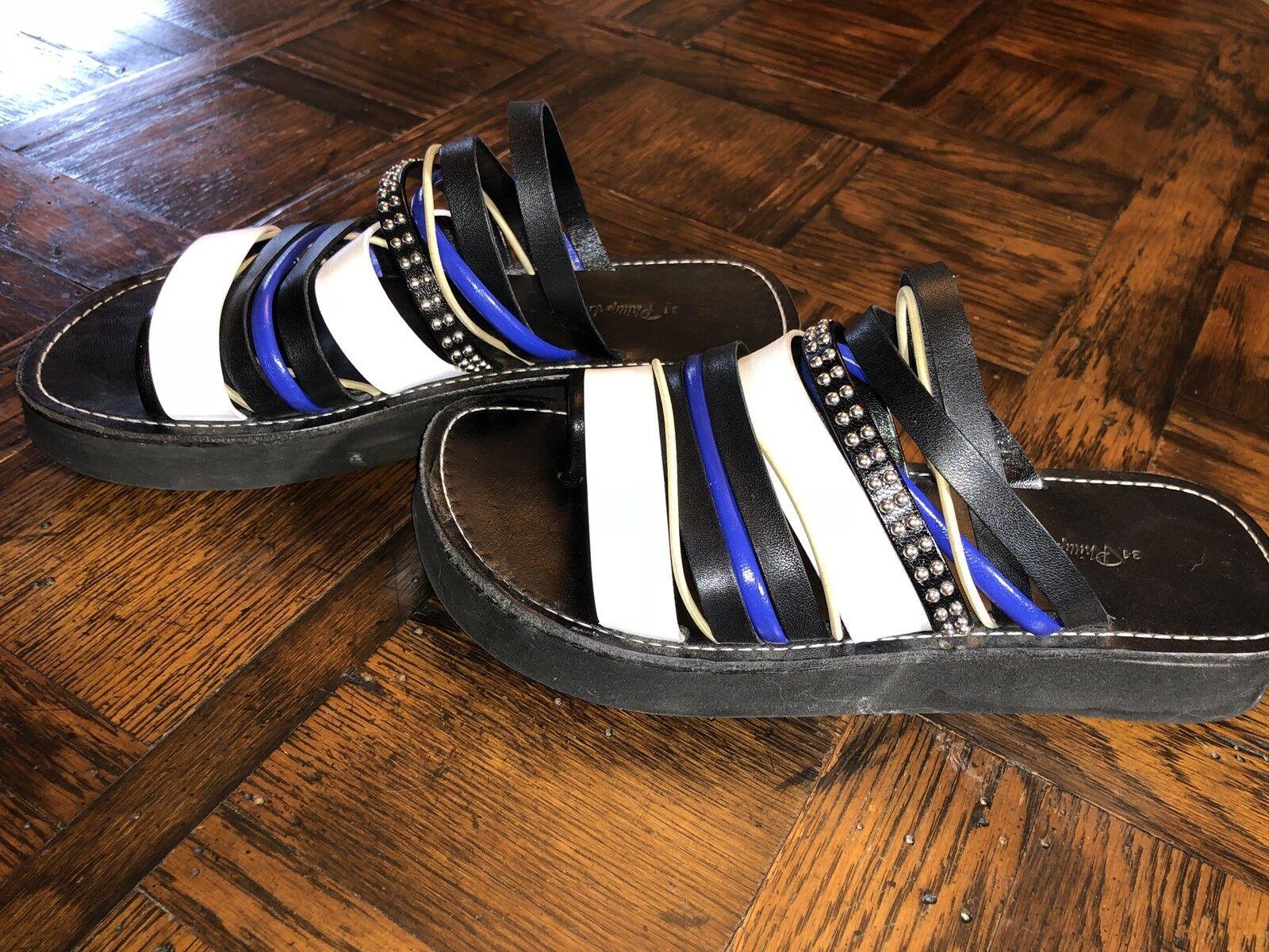 3.1 Toe Phillip Lim Eva Strappy Toe 3.1 Loop Sandale Größe 38 at Nordstrom for 295.00 071361