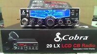 BRAND NEW COBRA 29 LX 29LX 40 CHANNEL CB RADIO PRO TUNED,MOSFET,SWING KIT