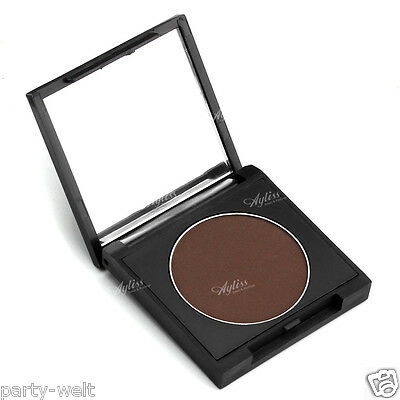Single Square Matte Ladies Pure Eye Shadow Makeup Cosmetic Palette Mirror Brown