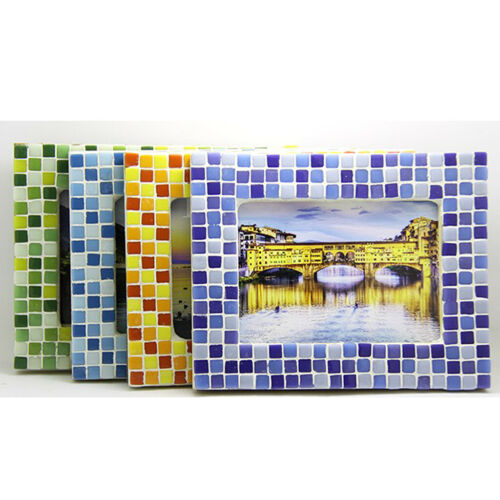 250x Square Glass Mosaic Tiles Pieces for Art Craft 10x10mm Supplies White