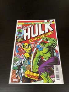Marvel Comics True Believers The Incredible Hulk Issue # 181 Reprint Issue NM