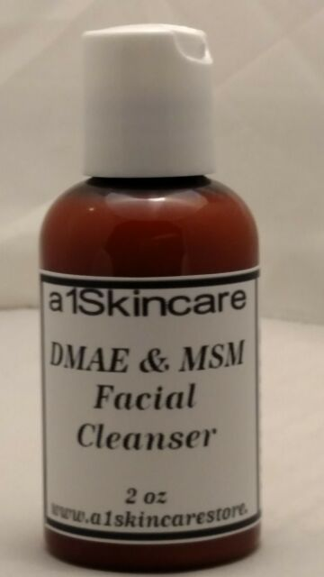 DMAE MSM Daily Facial Cleanser Skin Tightener Anti aging 2 oz