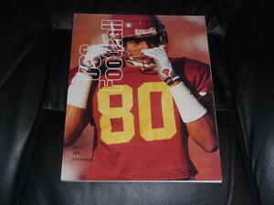1993 UCLA AT USC COLLEGE FOOTBALL PROGRAM NEAR MINT