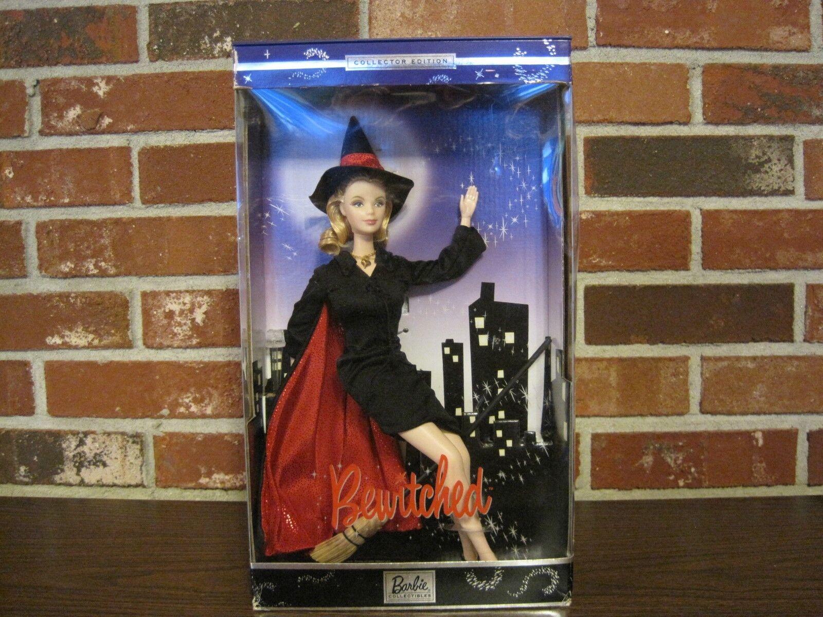 2001 Edición Coleccionista embrujado Barbie como Samantha (Nuevo en Caja)
