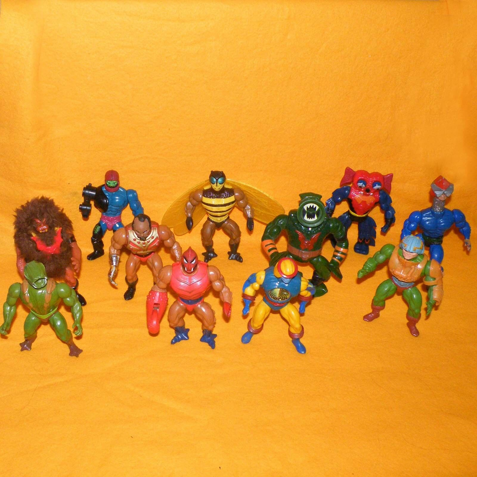 VINTAGE 1980s 80s Mattel MOTU HE-Man Masters of the Universe ACTION FIGURE LOTTO