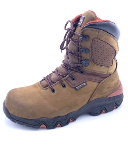Rocky Bigfoot 8 Inch Steel Toe Waterproof Slip Res