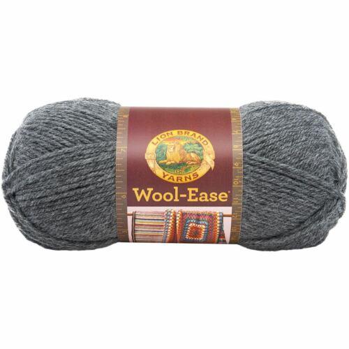 Oxford Grey Lion Brand Wool-Ease Yarn