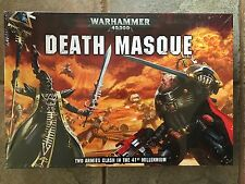 WARHAMMER 40K DEATH MASQUE BOX SET SEALED HARLEQUINS DEATHWATCH RULES
