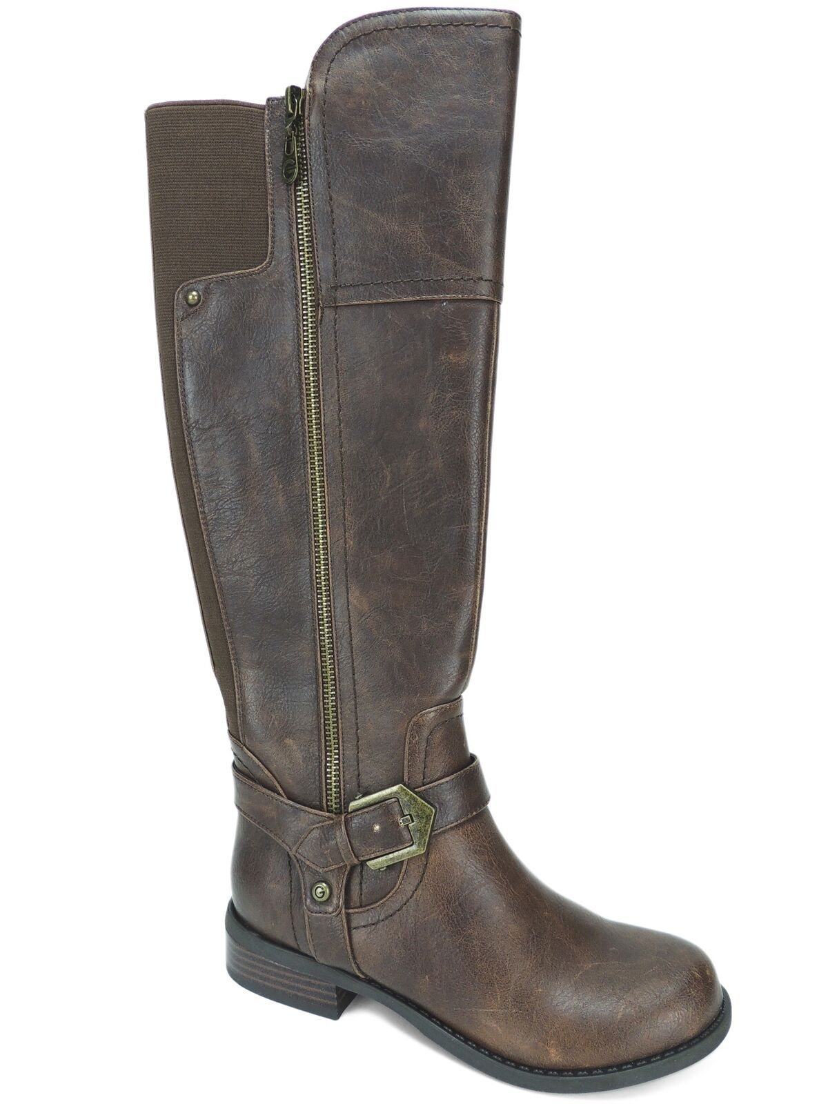 G By Guess Women's Hailee Riding Riding Riding Boots Dark Brown Size 5 M 6ff7ba